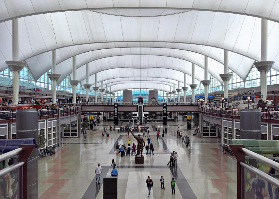 Construction firm Hensel Phelps will begin building new security checkpoints as the Great Hall improvements at Denver International Airport enter Phase 2.