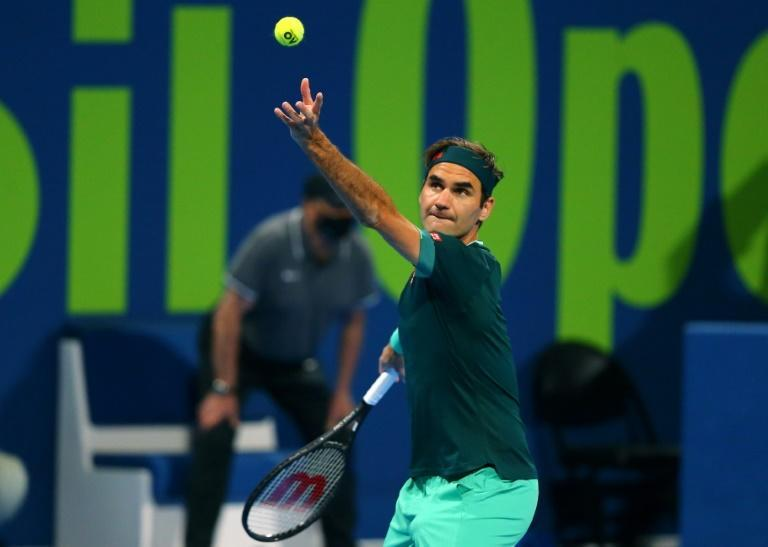 After a year out Roger Federer returned to the court in Qatar in March
