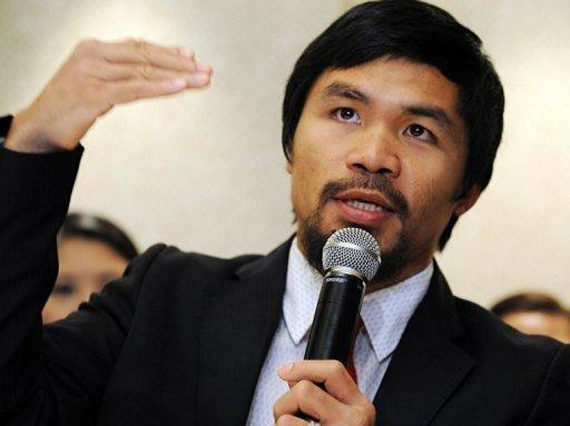 Pacquiao told a US website this week he was opposed to same-sex unions