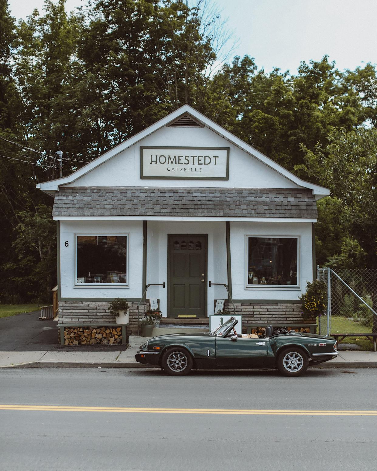 Homestedt Store & Showroom in Livingston Manor, New York.