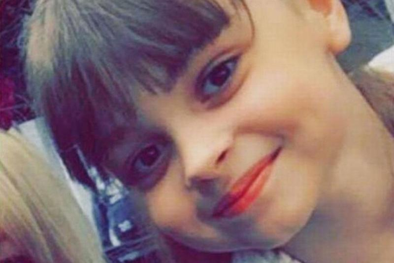 Saffie Roussos, 8, who died in the Manchester Arena bombing in 2017