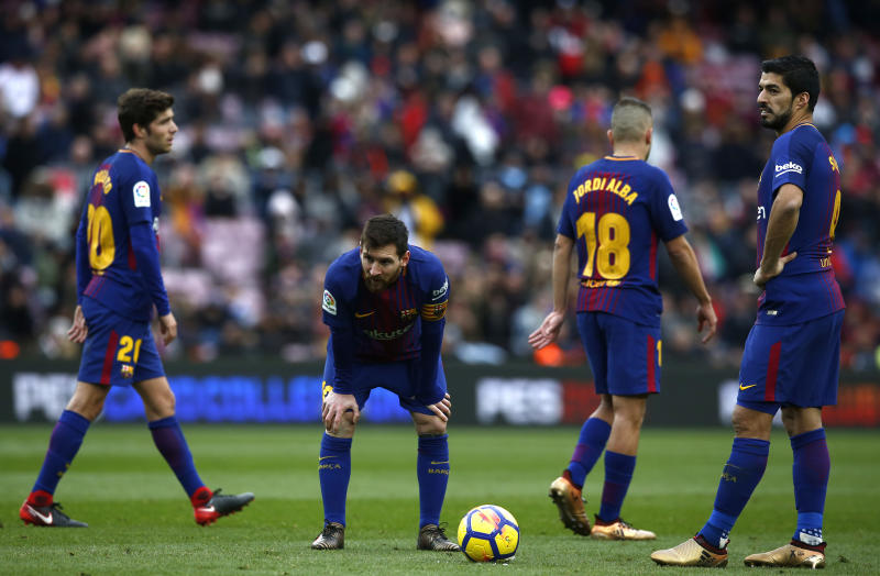 Barca held 2-2 by Celta despite Messi ending goal drought