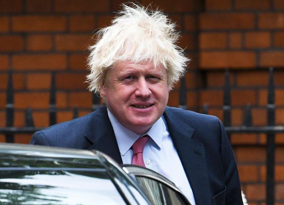 <p>The British politician's most formidable foe? A windy day outside.</p>