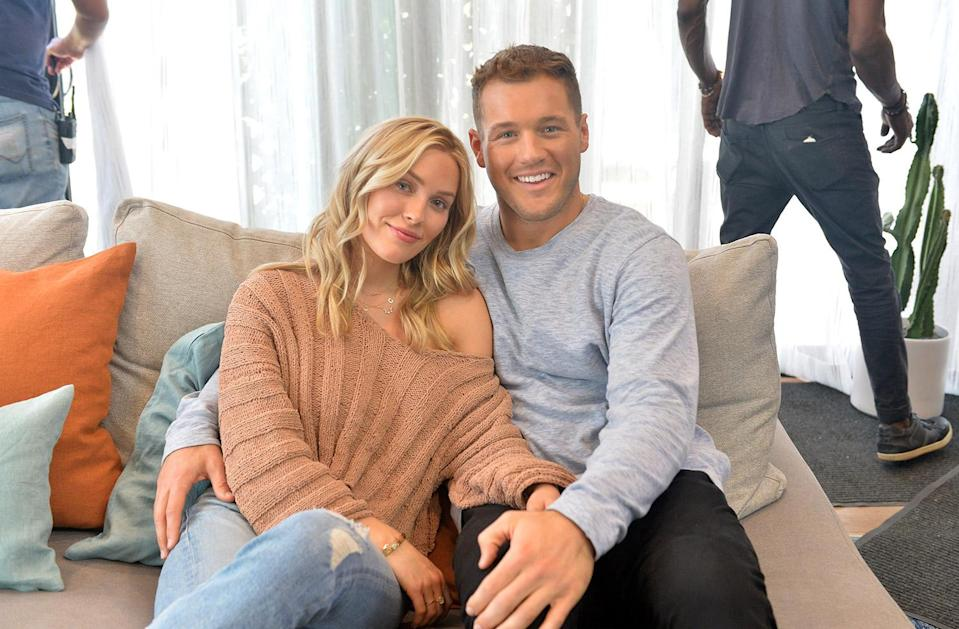 """<p>The couple seemed to be going strong as they went on more dates and got to know each others' families. In April 2019, Underwood <a href=""""https://people.com/tv/colton-underwood-cassie-randolph-engaged-within-next-year/"""" rel=""""nofollow noopener"""" target=""""_blank"""" data-ylk=""""slk:hinted at an engagement"""" class=""""link rapid-noclick-resp"""">hinted at an engagement</a> while attending the the 54th Academy of Country Music Awards.</p> <p>""""Honestly, if I was a betting man I would say it would happen within the next year, yes,"""" he told <a href=""""https://www.etonline.com/colton-underwood-and-cassie-randolph-on-whats-next-for-them-weve-talked-about-our-engagement-122924"""" rel=""""nofollow noopener"""" target=""""_blank"""" data-ylk=""""slk:Entertainment Tonight"""" class=""""link rapid-noclick-resp""""><em>Entertainment Tonight</em></a> at the time. </p>"""