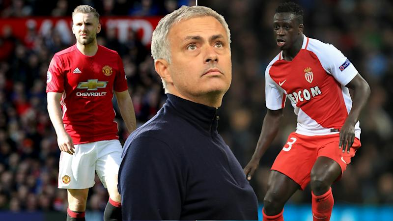 Mourinho is searching for a new left-back