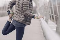 """<p>Did you manage to <a href=""""https://www.popsugar.com/fitness/Which-Fitbit-Should-I-Get-42853272"""" class=""""link rapid-noclick-resp"""" rel=""""nofollow noopener"""" target=""""_blank"""" data-ylk=""""slk:snag a Fitbit"""">snag a Fitbit</a> at your work's white elephant gift swap? Then start the new year off by wearing it daily to take note of how active you really are, said <a href=""""http://erinpalinski.com/"""" class=""""link rapid-noclick-resp"""" rel=""""nofollow noopener"""" target=""""_blank"""" data-ylk=""""slk:Erin Palinski-Wade"""">Erin Palinski-Wade</a>, RD, CDE, author of <strong>Belly Fat Diet For Dummies</strong>. """"Awareness is key for weight management. Even if you go to the gym daily but are sitting for the rest of the day, you may be burning fewer calories than you realize,"""" she said.</p>"""