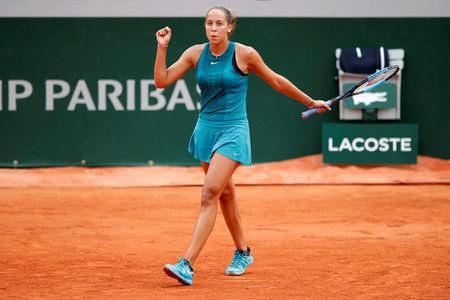 Madison Keys through to first French Open quarter-final