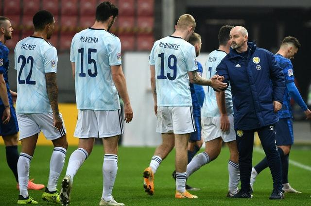 Scotland were beaten by Slovakia last time out