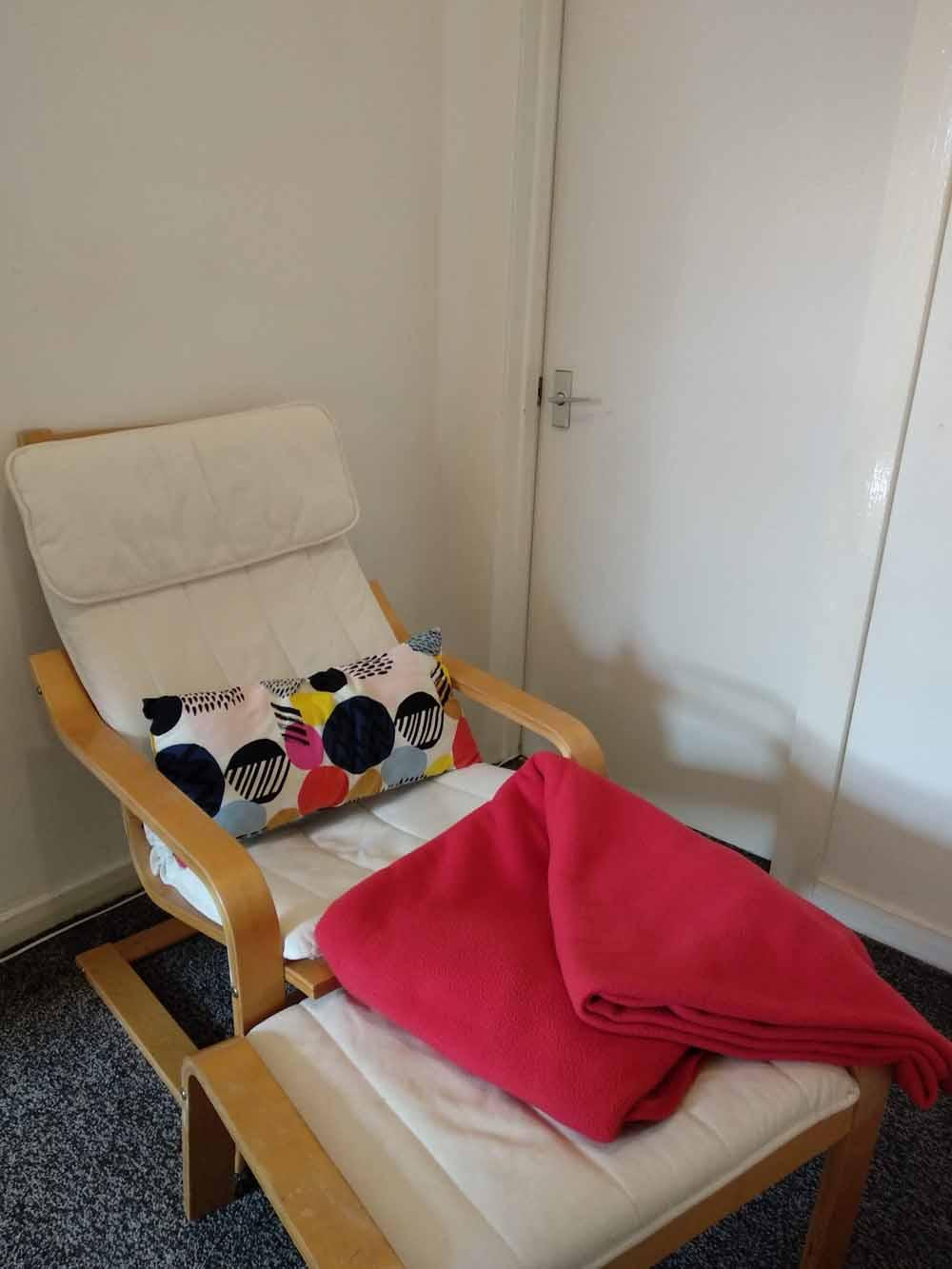 Eva found this IKEA chair, usually costing £100, for free. (Collect/PA Real Life)