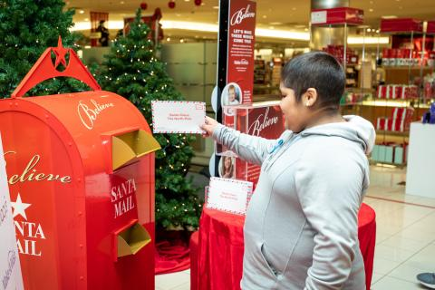 Macy's Celebrates National Believe Day With Goal to Raise An Extra $1 Million for Make-A-Wish® Through Annual Letter Writing Campaign