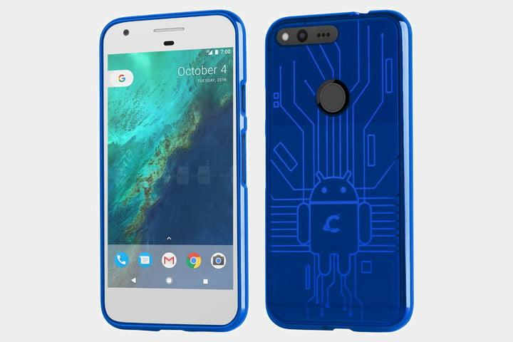 Best Google Pixel cases - Cruzerlite Bugdroid Circuit Case