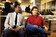 """<p><em>Lethal Weapon</em>, which stars Mel Gibson and Danny Glover as LAPD detectives, is considered by many to be one of the best buddy cop action movies of all time. Gibson, however, <a href=""""https://www.vox.com/culture/2018/7/24/17460392/mel-gibson-comeback-metoo-times-up"""" rel=""""nofollow noopener"""" target=""""_blank"""" data-ylk=""""slk:hasn't aged as well over the years"""" class=""""link rapid-noclick-resp"""">hasn't aged as well over the years</a>.</p> <p><em>Available to rent on</em> <a href=""""https://www.amazon.com/Lethal-Weapon-Mel-Gibson/dp/B001EBV0L2"""" rel=""""nofollow noopener"""" target=""""_blank"""" data-ylk=""""slk:Amazon Prime Video"""" class=""""link rapid-noclick-resp""""><em>Amazon Prime Video</em></a>.</p>"""