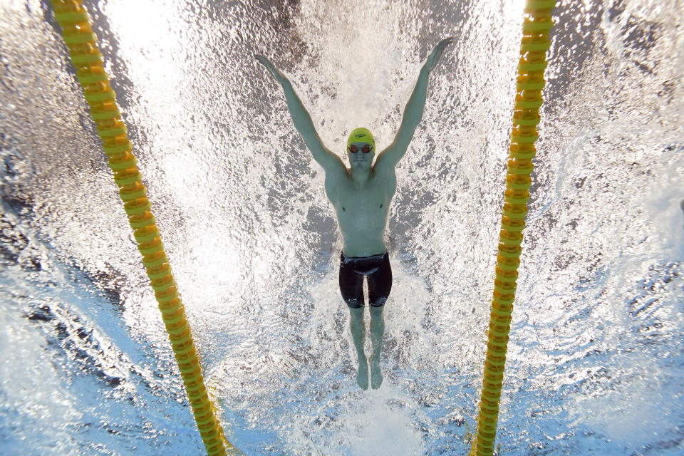 When virus put premium on pools, Olympic swimmer went to sea