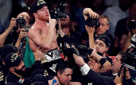 Canelo Alvarez won the rematch in Las Vegas and opened the door to another rematch - Credit: Steve Marcus