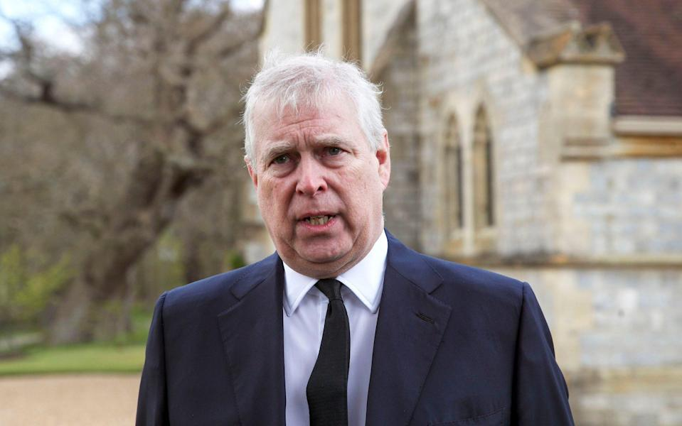 Prince Andrew  - Steve Parsons/PA