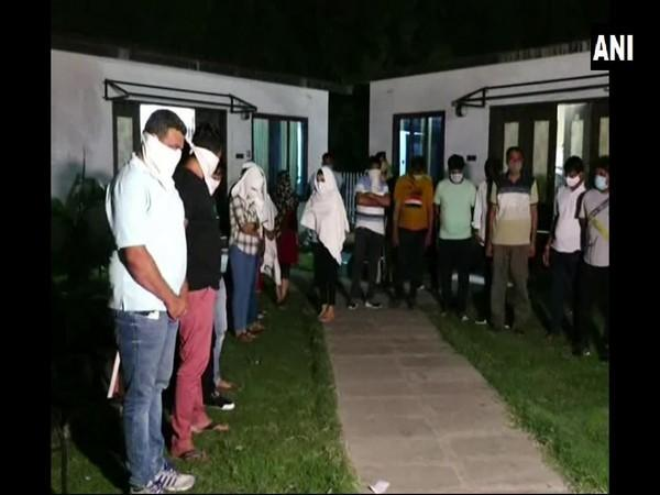 25 accused arrested for gambling (Photo/ANI)
