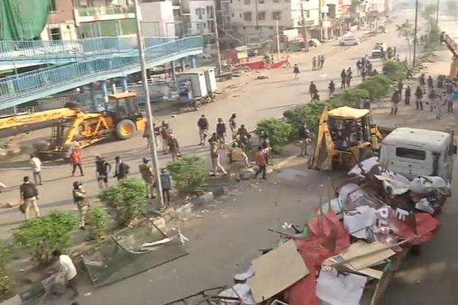 Shaheen bagh cleared