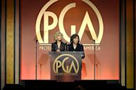 """<p>The Producers Guild of America adjusted the eligibility requirements for the upcoming award show to align with COVID-19 restrictions placed on the industry, and <a href=""""http://www.producersguild.org/page/pgaawards2021"""" class=""""link rapid-noclick-resp"""" rel=""""nofollow noopener"""" target=""""_blank"""" data-ylk=""""slk:the ceremony will air on March 24, 2021"""">the ceremony will air on March 24, 2021</a>.<br></p>"""
