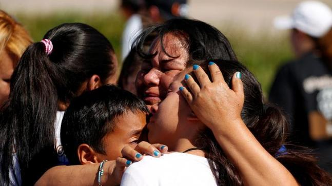 "The children, who are the US citizens by birth, have been put in temporary camps that many are calling ""jail"" or ""concentration"" camps. While the action of Immigration and Customs Enforcement (ICE) agents has drawn widespread condemnations in the US, President Donald Trump has called it lawful."