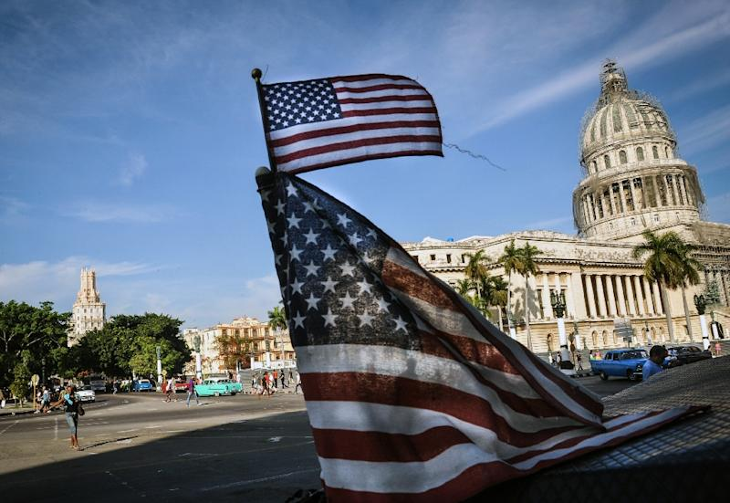 The United States and Cuba have reached a deal to reopen embassies in Washington and Havana (pictured), in a major step toward ending decades of Cold War enmity (AFP Photo/Yamil Lage)
