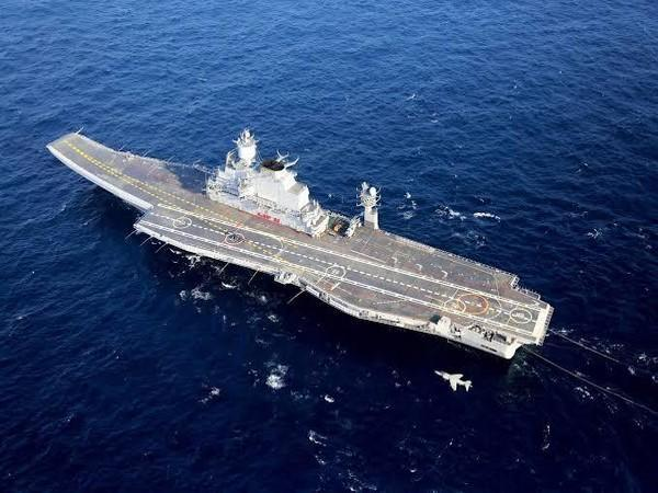 Representative picture of an Indian Navy warship