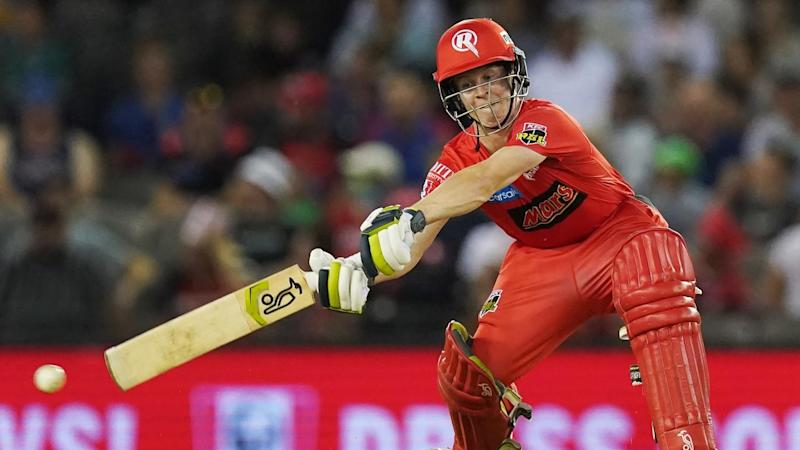 Sam Harper of the Renegades scored a quick-fire 45 as his side finished 6-153 against the Strikers