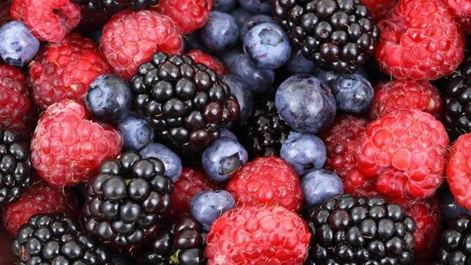 Buah Berry - Image by PublicDomainPictures from Pixabay