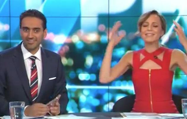 Carrie was having none of it. Photo: Network Ten