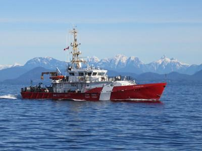 The Marine Patrol Program enforcement vessel, the M. Charles (CNW Group/Fisheries and Oceans Canada, Pacific Region)