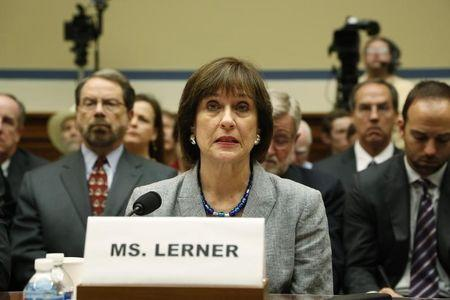 Lerner prepares to deliver an opening statement to a House Oversight and Government Reform Committee hearing in Washington