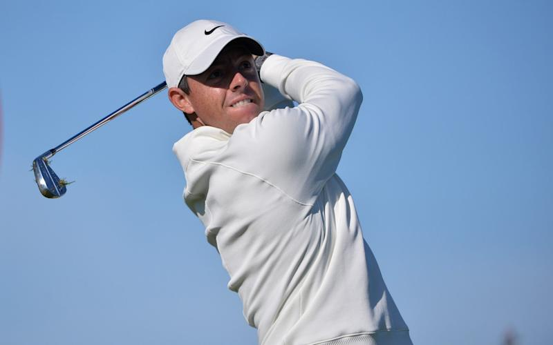 Rory McIlroy's first round of the year showed no signs of cobwebs - USA TODAY Sports