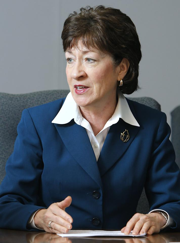 "<p>She is known not only for her strong work ethic--Collins has never missed a vote in her 20 years in office--but for her efforts to reach across the aisle and work with her Democratic counterparts. Dubbed ""the real Republican maverick"" by the data-driven political blog FiveThirtyEight.com, Collins has a record of breaking with her party on issues that protect women's reproductive rights and LGBT rights. She has been a vocal critic of President Trump's immigration executive order, issuing a statement that ""religious tests serve no useful purpose in the immigration process and run contrary to our American values."" And, most recently, she urged her friend and colleague, Attorney General Jeff Sessions, to recuse himself from the Justice Department's investigation into Russia's involvement in the presidential election.</p>"