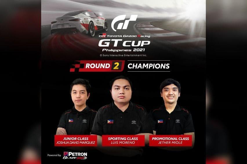 Toyota GR GT Cup Round 2 Winners