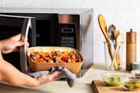 """<p>Sunbasket touts its organic, fresh and healthy ingredients. Its meal kit prices start at $59.95, which includes shipping and two recipes that serve two people. However, the price per serving decreases when you add more recipes and servings to your order, which is beneficial for families.</p> <p>If you have a restrictive diet, Sunbasket is a great meal kit to start with. The service offers a variety of meal plan options including vegetarian, paleo, gluten free, carb conscious, pescatarian, diabetes friendly and more. Customers can choose a specific meal plan or mix and match any of Sunbasket's weekly recipes, regardless of what meal plan they select during signup. </p> <p><a href=""""https://www.thedailymeal.com/cook/sun-basket-meal-kit?referrer=yahoo&category=beauty_food&include_utm=1&utm_medium=referral&utm_source=yahoo&utm_campaign=feed"""" rel=""""nofollow noopener"""" target=""""_blank"""" data-ylk=""""slk:For the full Sunbasket review, click here."""" class=""""link rapid-noclick-resp"""">For the full Sunbasket review, click here.</a></p>"""