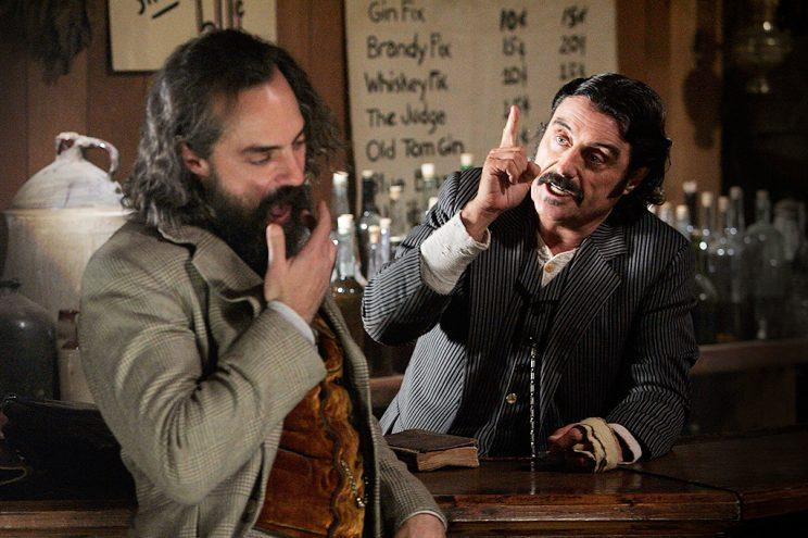 Titus Welliver in HBO's Deadwood. (Photo: HBO)