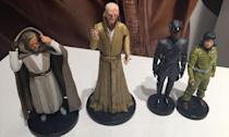 <p>Snoke towers above the other characters in this range of die-cast figures coming to the Disney Store (Yahoo Movies UK/Disney) </p>