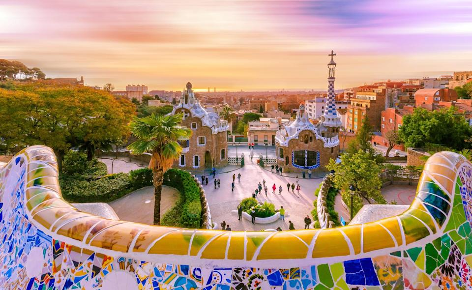 View from Park Guell: iStock