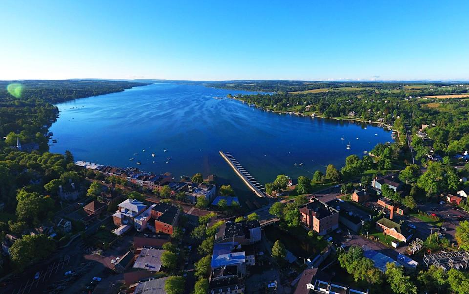 "<p>The Finger Lakes in upstate New York are known for their natural scenic beauty, small-town charm, and culinary splendor. While there, it's a must to stay at <a href=""http://www.lakehousecanandaigua.com/"" class=""link rapid-noclick-resp"" rel=""nofollow noopener"" target=""_blank"" data-ylk=""slk:The Lake House on Canandaigua"">The Lake House on Canandaigua</a>, a new luxury-design-focused hotel. The hotel has a new signature restaurant, Rose Tavern, featuring locally sourced ingredients and stellar wines from the Finger Lakes, as well as cooking classes.</p>"