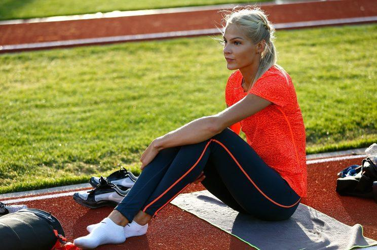 Darya Klishina will be competing in the long jump (Getty)