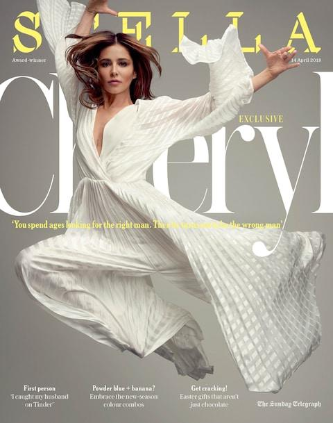 Cheryl on the cover of Stella Magazine
