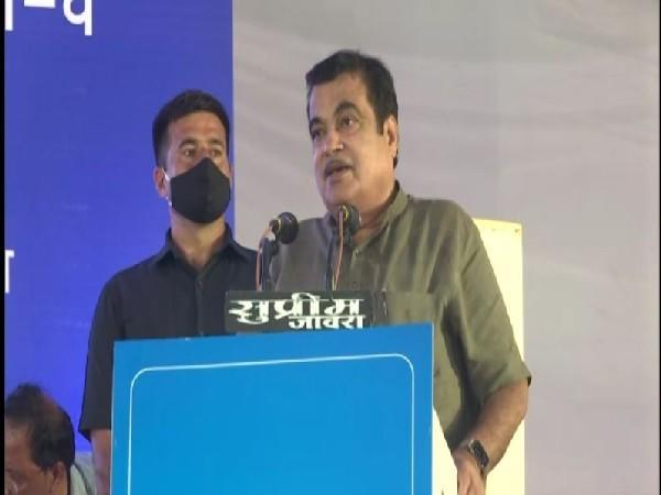 Union Minister for Road Transport and Highways Nitin Gadkari (Photo/ANI)