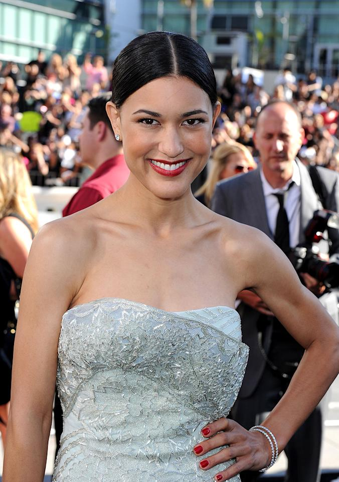 """<a href=""""http://movies.yahoo.com/movie/contributor/1808594424"""">Julia Jones</a> at the Los Angeles premiere of <a href=""""http://movies.yahoo.com/movie/1810074301/info"""">The Twilight Saga: Eclipse</a> - 06/24/2010"""