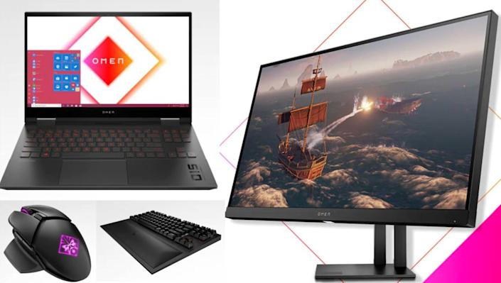 HP carries all the equipment you need for next-level gaming.