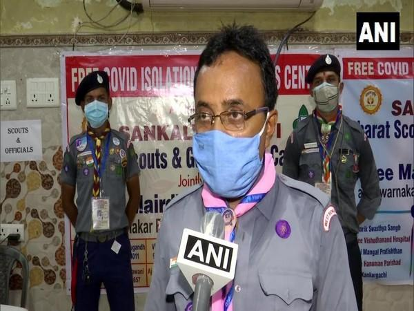 District Chief Commissioner of Bharat Scouts and Guides West Calcutta, Avinash Kumar Gupta