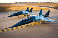 """<p>In partnership with Saab, Boeing worked to create an entirely new advanced jet trainer to replace aging <a href=""""https://www.af.mil/News/Article-Display/Article/1960964/air-force-announces-newest-red-tail-t-7a-red-hawk/"""" rel=""""nofollow noopener"""" target=""""_blank"""" data-ylk=""""slk:Northrop T-38 Talon aircraft"""" class=""""link rapid-noclick-resp"""">Northrop T-38 Talon aircraft</a>. Armed versions of the Red Hawk, named in honor of World War II's Tuskegee Airmen, <a href=""""https://www.flightglobal.com/farnborough-2020/boeing-sees-t-7-as-combat-replacement-for-northrop-f-5-and-dassault/dornier-alpha-jet/139289.article"""" rel=""""nofollow noopener"""" target=""""_blank"""" data-ylk=""""slk:might also replace F-5 and Alpha Jet light fighters"""" class=""""link rapid-noclick-resp"""">might also replace F-5 and Alpha Jet light fighters</a> in air forces around the globe.</p>"""