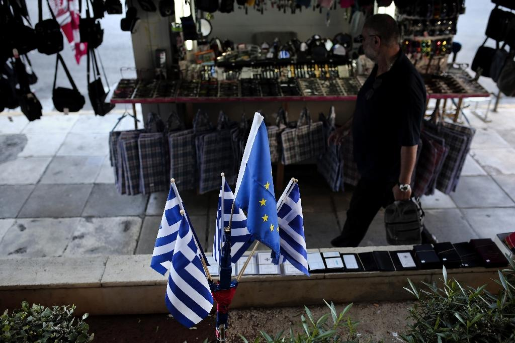 Greece returned to growth in the first quarter of 2017, with a 0.4% increase in GDP (AFP Photo/ANGELOS TZORTZINIS)