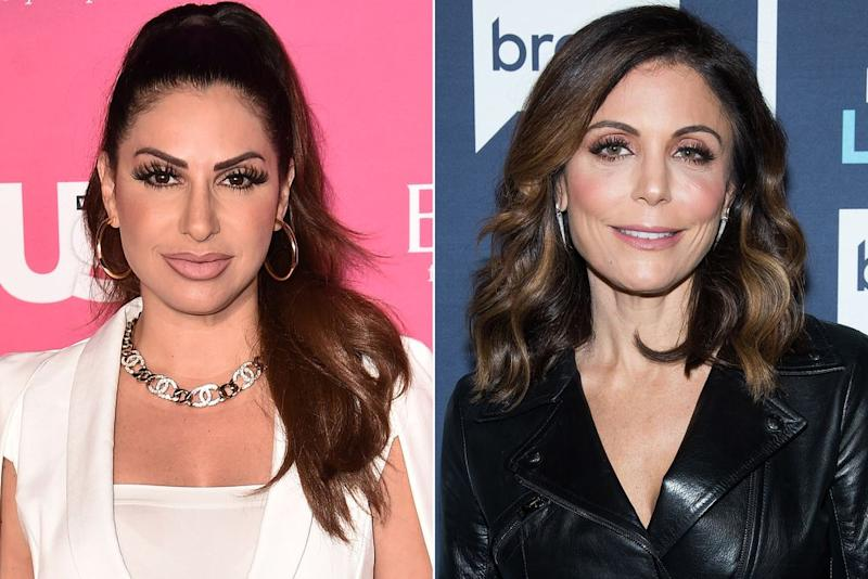 Jennifer Aydin and Bethenny Frankel | Steven Ferdman/Getty; Charles Sykes/Bravo/NBCU Photo Bank/NBCUniversal via Getty