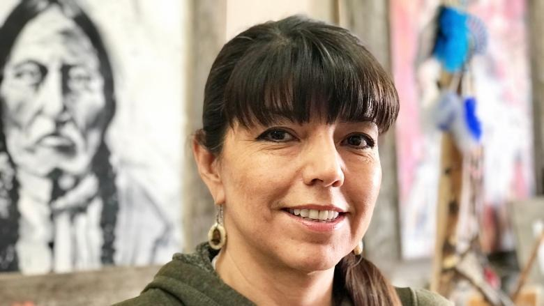 Indigenous artist from small-town Alberta 'honoured' to showcase work in Germany