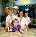 "<p>It's been a while since we heard ""Kiss my grits!""—the classic line spewed from the sharp-tongued Flo on the 1970s sitcom <em>Alice.</em> Flo, single-mom Alice, and the scatterbrained Vera waitressed for their crotchety chef and boss, Mel. At Mel's Diner they worked hard for their money, slinging greasy-spoon fare to the sometimes overly friendly customers while they also attempted to make Mel a softy.</p>"