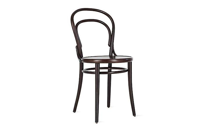 """<p><strong>Michael Thonet</strong></p><p>dwr.com</p><p><a href=""""https://go.redirectingat.com?id=74968X1596630&url=https%3A%2F%2Fwww.dwr.com%2Fdining-chairs-and-stools%2Fera-chair%2F3934.html&sref=https%3A%2F%2Fwww.redbookmag.com%2Fbeauty%2Fg37132432%2Fchair-types-styles-designs%2F"""" rel=""""nofollow noopener"""" target=""""_blank"""" data-ylk=""""slk:Shop Now"""" class=""""link rapid-noclick-resp"""">Shop Now</a></p><p>In 1859, German cabinetmaker Michael Thonet created what would come to be the quintessential restaurant chair. Defined by its round seat and bentwood back, the Era chair (sometimes called a Thonet chair) is both lightweight and durable, making it ideal for commercial settings. Notable fans of the chair include Le Corbusier and Pierre-Auguste Renoir. </p>"""